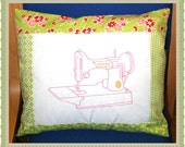 Machine Embroidery Design Large Singer Featherweight