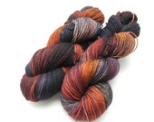 Gasoline Rainbow - Hand Dyed Yarn - Dyed to Order