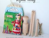 Peg Doll Kit
