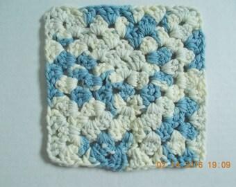 Crocheted Granny Square Dishcloth/Washcloth