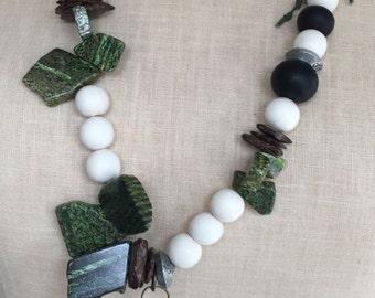 Emerald Isle Stoner Boho Chic Necklace