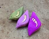 Shrinking Violets Bird Totem Set