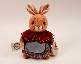 Beatrix Potter - Peter Rabbit - Mrs. Rabbit Plush With Tag Eden - Perfect!