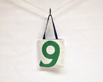 Recycled Sail Tote  - Green  9