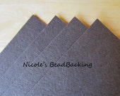 Nicoles BeadBacking 4 pack 12x9 Rich Brown
