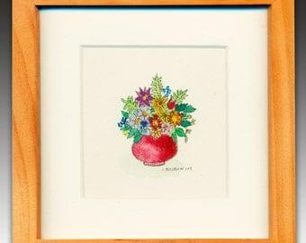 Bouquet - Original Miniature Painting