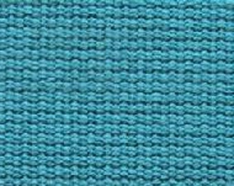 ECHINO Webbing #11 Blue Bird - 45MM WIDE -  Turquoise Blue Trim - Kokka Japanese Imported Etsuko Furuya