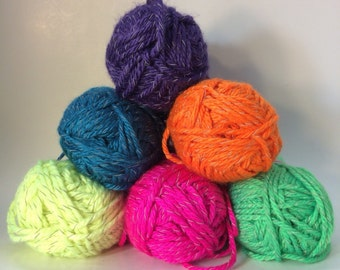 Reflective Yarn by Red Heart - 6 Colors available