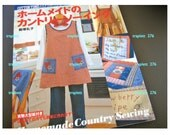 Japanese  Craft Pattern Book Sewing Handmade Country Sewing Cotton Time