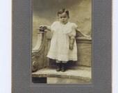 Child. grey,Antique Cabinet Photograph.Victorian.Paper Ephemera.Retro.Craft Project.artist.collage.portrait.french.paris.collect.historic