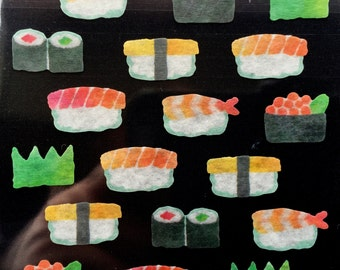Sushi Stickers - Japanese Stickers -  Masking Tape Stickers -  S73