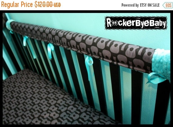 Spring Cleaning Sale Bite Me Crib Rail Protectors By