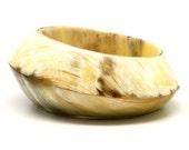 Horn Bangle Bracelets - Q9493