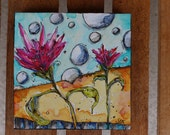 Reserved Listing for Andi A- Zen painting Workshop  by Jod Ohl