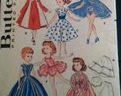 Vintage Butterick Doll Clothing Pattern Number 8354