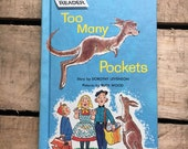 1963 Too Many Pockets Easy Reader Harcover Book by Dorothy Levenson