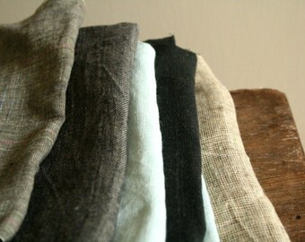LINEN FABRIC remnants / runningthreads