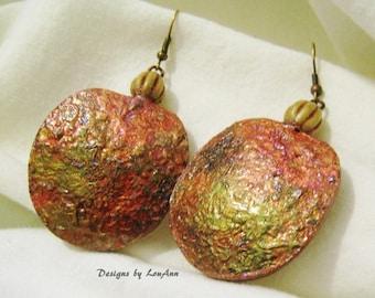 Irridescent Gourd Earrings