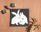 Papercut Bunnies