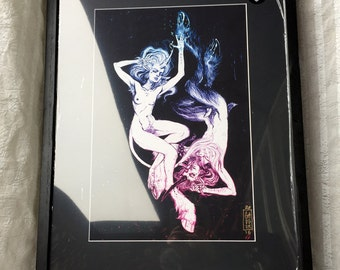 """True Love Waits (The Virgins) giclée matted & framed to 18 x 24"""" closed edition"""