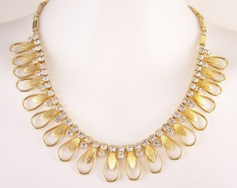 Vintage Sarah Coventry Rhinestone Necklace