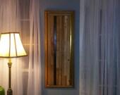 Wood Sculpture, Wood Panel, Wood Panel Art Piece