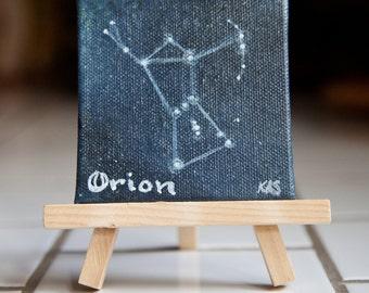 Constellation Orion Magnet Original Painting