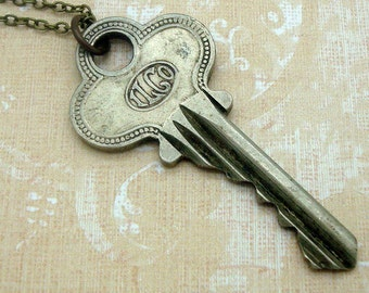Vintage Key Necklace with an Ilco Housekey