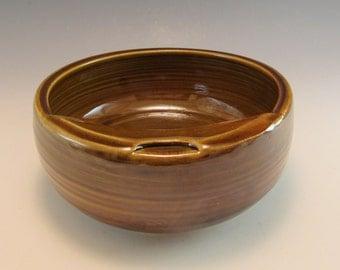Mustache Bowl/ Moustache Pottery Bowl-16-18 Ounce Mustache Bowl