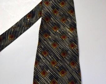 Vintage Men's Evan Piccone Silk Necktie 59 inches long