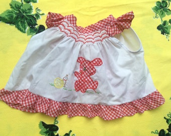 70s Gingham Dress or Top