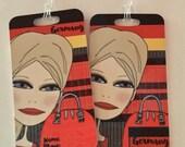Custom order for Melinda 2 Luggage tags