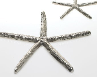 Silver Starfish // Terrarium Element