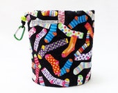 Crazy Socks with Dots Bag