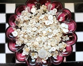 Supplies - Pound of Mother of Pearl Buttons, vintage button lot, pound of buttons, bulk buttons, craft buttons, shabby