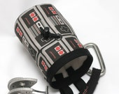 80's Flashback v2.0, Hand Crafted NES Controller Chalk Bag and Belt, Rock Climbing