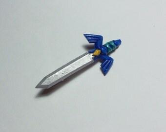 Legend of Zelda Master sword alligator hairclip