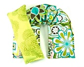 Aromatheray Heating Pad, Neck Wrap Eye Pillow Set  Hot/Cold Therapy,Microwave Heat Pack, Heating Pad