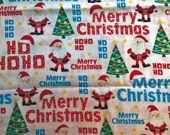 Merry Christmas Santa - fat quarter