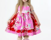 Ava Rose apron dress - limited quantity - Made in the USA