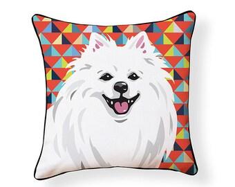 Pooch Décor: American Eskimo Pillow