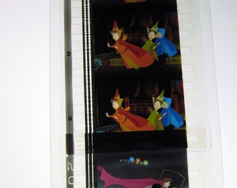 Sleeping Beauty Bookmark - Recycled Film