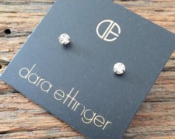 Dara Ettinger Crystal Stud earrings