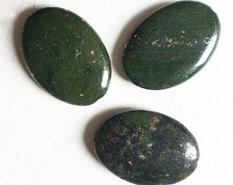 Green Chalcopyrite Oval 20 x 30mm