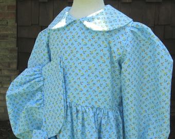 Girls Pioneer Costume/ Dress & Bonnet ..PLEASE read full ad.
