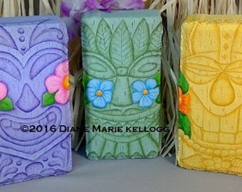 E16015 Tiki Trio Pattern Packet from Oil Creek Originals