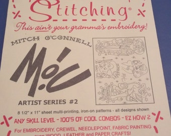 Sublime Stitching Embroidery Transfer - Rockabilly Pin Up MOC artist series 2