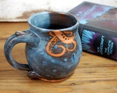 Tentacle Mug in Slate Blue- Made to Order