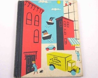 The Noisy Book Vintage 1930s Children's Book by Margaret Wise Brown Illustrated by Leonard Weisgard