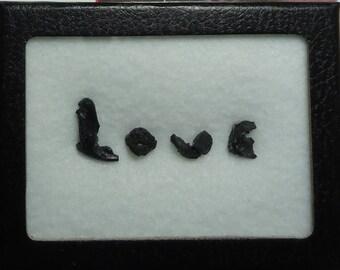 Sale IRGIZITE LOVE Tektite Meteorite Writing Display And Souvenir Card Stand Laser Label Impact Glass From Kazakhstan Beyond Rare Sale